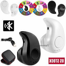 Mini Wireless Earphone Bluetooth Headset Sports Earbud For V