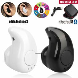 Mini Wireless Earphone Bluetooth Headset Sports Earbud For A
