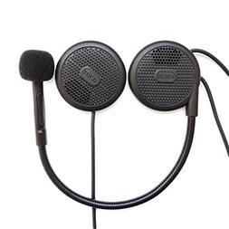 NikoMaku Motorcycle Bluetooth Headphones Helmet Headset Inte
