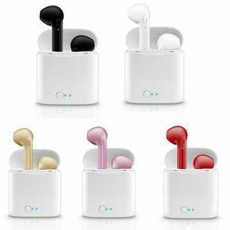 New Bluetooth Wireless Earbuds i7s TWS Two In-Ear Earphones