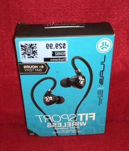 NEW-JLAB FitSport Wireless Sport Earbuds Universal Mic w/Vol