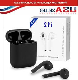 NEW i12 TWS BLUETOOTH 5.0 Earbuds Wireless Headphones Airpod