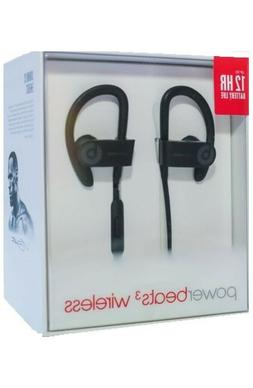 New OEM Beats by Dr Dre Powerbeats3 Wireless Headphones Blac