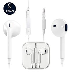 Earphones with Microphone  Premium Earbuds Stereo Headphones