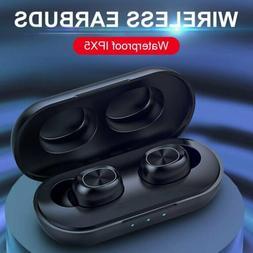NEW Premium Wireless Earbuds W/ Charging Case Headphones TWS