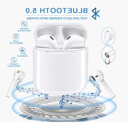 NEW Pro Grade Bluetooth Wireless Earbuds Headphones With Cha