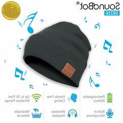 New Soundbot SB210-GRY/GRY HD Stereo Bluetooth 4.1 Wireless