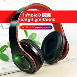 New Wireless 5.0 Bluetooth Earphone Stereo Earbuds Headphone