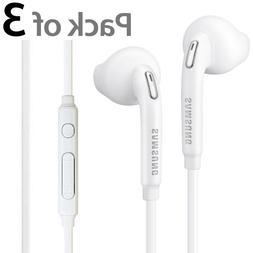 3x OEM Original Samsung Galaxy S6 Edge+ Note 5 Headset Earph