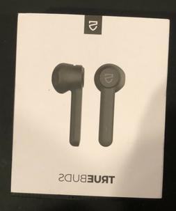 Open Box. Soundpeats TrueBuds Black Wireless Earbuds Chargin
