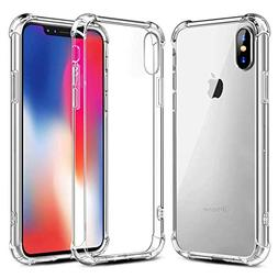 Phone Case for iPhone X Cases Clear, Ultra Thin Clear Soft T