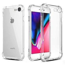 Phone Case Phone 8 Phone 7, Ultra Thin Clear Soft TPU Cases