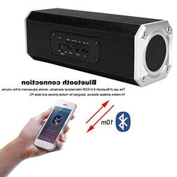 DZT1968 Portable Hands-free Wireless Bluetooth Speaker Dual