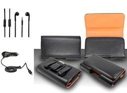 For Samsung Galaxy J3  Premium Classic Black Pebble Texture