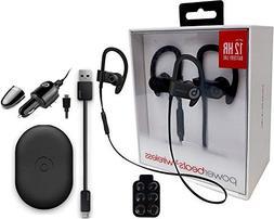 powerbeats3 wireless earphones car wall