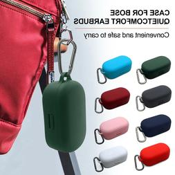 Protective Silicone Case Carrying Box W/ Carabiner For Bose