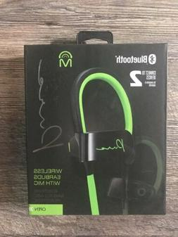 60a9ff94b01421 Mental Beats Pure Wireless Bluetooth Earbuds With Mic - Gree