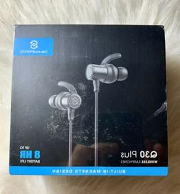SoundPEATS Q30 Bluetooth Earphones Wireless Workout Run Ear