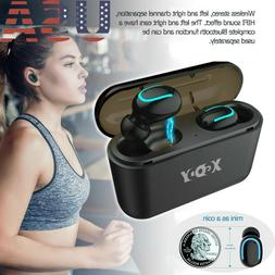 Q32 TWS Bluetooth V5.0 Earbuds Wireless Headphones 5D Stereo
