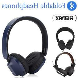 REMAX Wireless Bluetooth 5.0 Headphone Foldable Stereo Earph