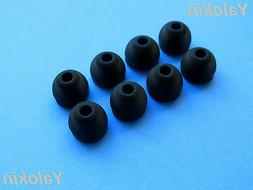 8 pcs Large  Replacement Eartips Earbuds for Jaybird X3 Wire