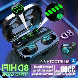 S11 3500mah Power Bank Earphone Bluetooth Wireless Tws Heads