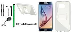 Samsung Galaxy S6  Phone Case - Premium Pretty S-Shape Stand