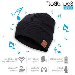 SoundBot SB210 HD Stereo Bluetooth 4.1 Wireless Smart Beanie