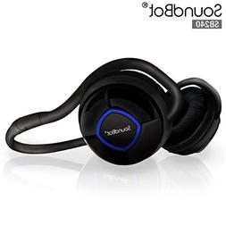 SoundBot SB240 Stereo Bluetooth Headset w/ HandsFree Calling