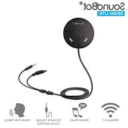 SoundBot SB360-LITE Bluetooth 4.0 Car Kit Hands-Free Wireles