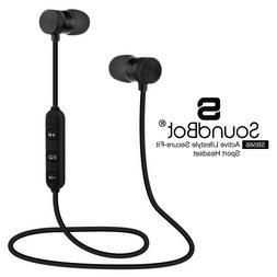 SoundBot SB566 Bluetooth Wireless Sports Headphones Earphone