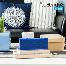 SoundBot® SB571 Bluetooth Wireless Speaker for 12 hrs Music