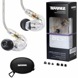 New SHURE SE215-CL Sound Isolating In-Ear Headphones Earphon