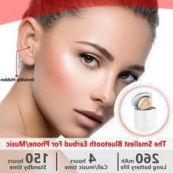 Ultra small Wireless Single Earbud Bluetooth Earpiece Hands-