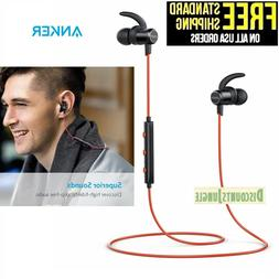 Anker SoundBuds Slim Wireless Headphones, Lightweight Blueto