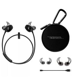 BOSE SoundSport Earbuds Wireless Bluetooth Black Factory Ren