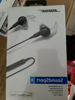 Bose SoundSport In-ear Wired Headphones - Charcoal Black