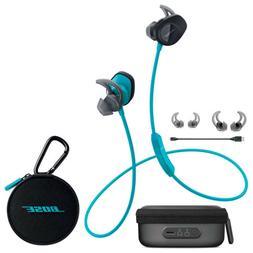 Bose SoundSport Wireless In-Ear Headphones - Aqua & Charging