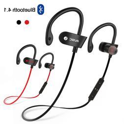 Sweatproof Headphones Wireless Bluetooth Sports Stereo Heads