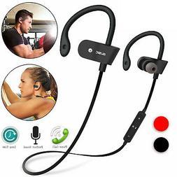 Waterproof BT Earbuds Sports Wireless Headphones Stay in Ear