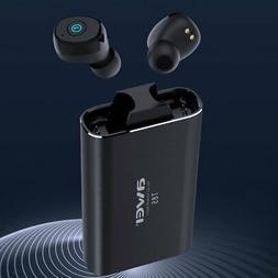 AWEI T85 Twins Wireless Earbuds Earphone BT5.0 Headphone Wit