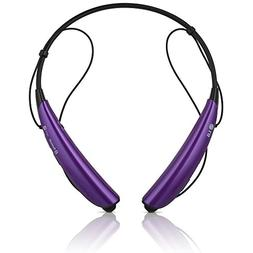 LG TONE PRO HBS-750 Wireless Bluetooth Stereo Headset - Purp