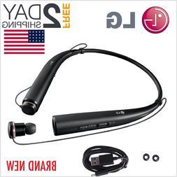 LG Tone Pro Wireless Bluetooth Head Set Earbuds Black Stereo