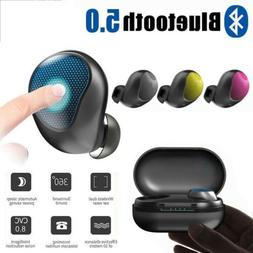 touch control wireless bluetooth 5 0 earbuds