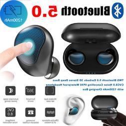 True Wireless Bluetooth 5.0 Earbuds Stereo Headphone CVC8.0