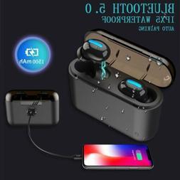 True Wireless Bluetooth 5.0 Earbuds TWS Sport Headset Stereo