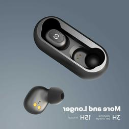 true wireless bluetooth earbuds 15 hrs playback
