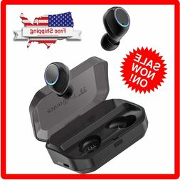 TaoTronics True Wireless Earbuds Bluetooth 5.0 Headphones IP