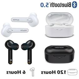 True Wireless Earbuds Bluetooth 5.0 in-Ear Stereo Headphones