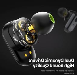 True Wireless Earbuds Bluetooth 5.0 n-Ear Bass Stereo IPX6 W
